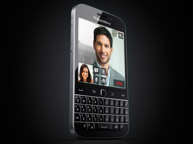 "Blackberry reveals ""no-nonsense"" Blackberry Classic"