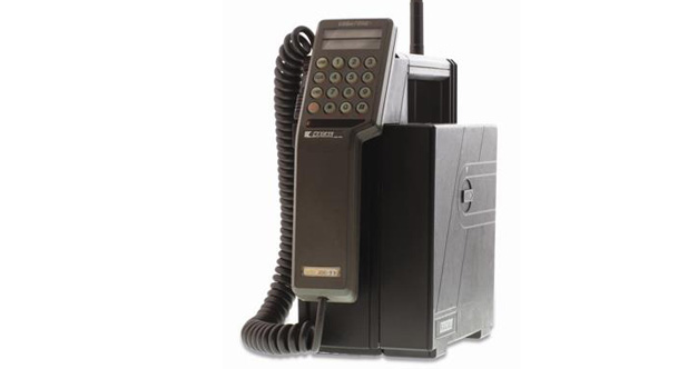 30 years today since the first UK mobile phone call was made